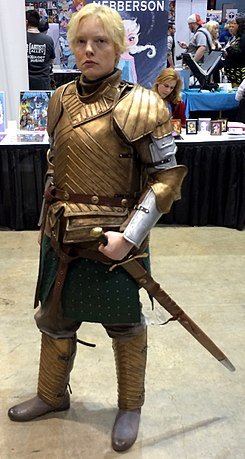 2015 C2E2 Cosplay - Brienne of Tarth (16766397373) (cropped).jpg