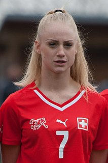Alisha Lehmann Swiss association football player
