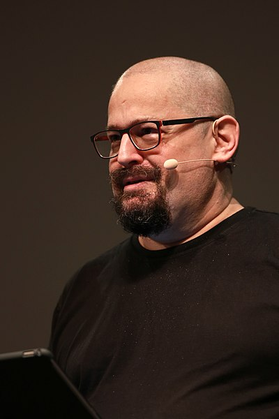 Picture of an author: Charles Stross