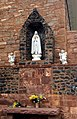 2017 08 11 Pecos St Anthony Church statues.jpg