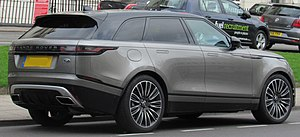 Range Rover Velar - Land Rover Range Rover Velar First Edition rear