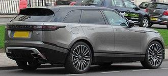 Range Rover Velar - Land Rover Range Rover Velar First Edition rear