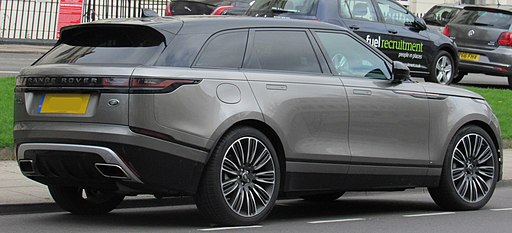 2017 Land Rover Range Rover Velar First Edition D3 3.0 Rear
