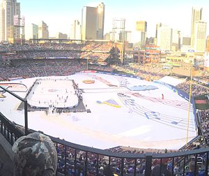 2017 NHL Winter Classic - Busch Stadium hosts the 2017 Winter Classic