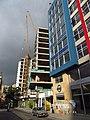 2018 Bogotá edificio en construcción en la carrera 5 con calle 22, Las Nieves.jpg
