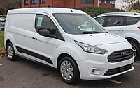 2018 Ford Transit Connect facelift Front.jpg