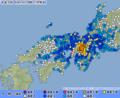 2018 Osaka earthquake Map4.png