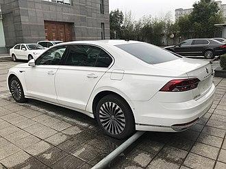 Volkswagen Phideon - Image: 2018 Volkswagen Phideon rear