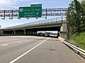 2019-05-29 11 31 44 View south along Interstate 95 (Henry G. Shirley Memorial Highway) at Exit 166A (SOUTH Virginia State Route 286-Fairfax County Parkway, Newington, Fort Belvoir) along the edge of Newington and Springfield in Virginia.jpg