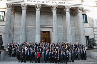 1981 Spanish coup d'état attempt - Parliamentary deputies and government officials who were taken hostage during the failed coup commemorate its 30th anniversary on February 23, 2011.