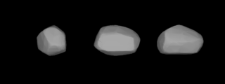 260 Huberta outer main-belt asteroid