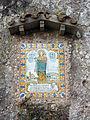 292 Montserrat, camí dels Degotalls, plafó ceràmic de la Mare de Déu del Remei.JPG