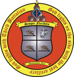 3rd Battalion, 11th Marines - 3/11 Insignia