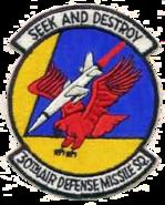 30th Air Defense Missile Squadron - ADC - Emblem
