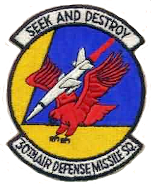 30th Tactical Missile Squadron - Image: 30th Air Defense Missile Squadron ADC Emblem