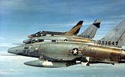 481st Tactical Fighter Squadron - F-100D Super Sabre