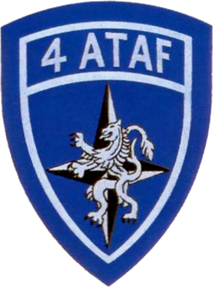 Fourth Allied Tactical Air Force - Image: 4th Allied Tactical Air Force (NATO) patch