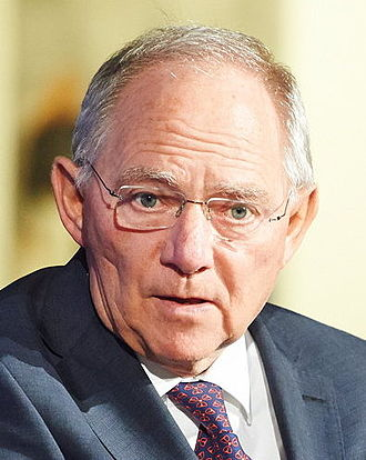 Wolfgang Schäuble - Image: 4th EPP St Géry Dialogue; Jan. 2014 (12189287345) (cropped)