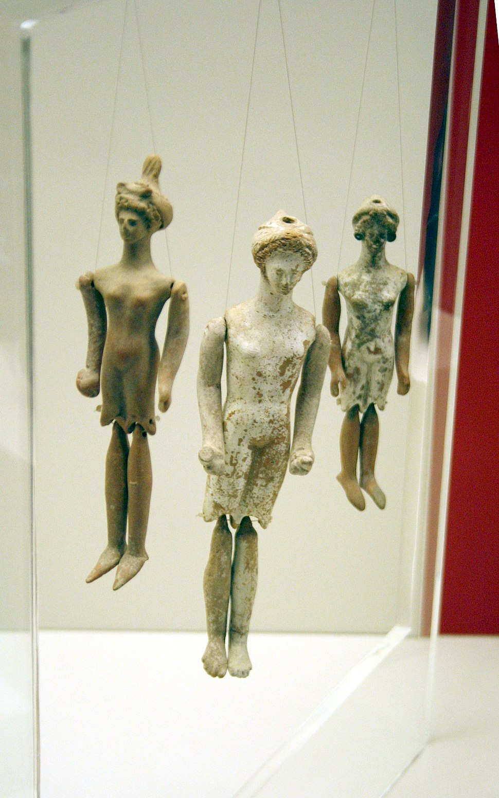 5016 - Archaeological Museum, Athens - Dolls - Photo by Giovanni Dall%27Orto, Nov 13 2009.jpg