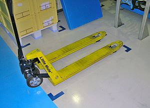 5S (methodology) - 2S – simple floor marking.