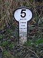 5 mile marker - geograph.org.uk - 1622442.jpg