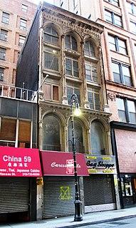 63 Nassau Street Historic building in Manhattan, New York