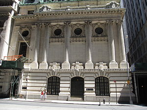 Chamber of Commerce of the State of New York - Former Chamber of Commerce Building