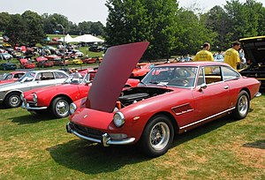 English: 1967 Ferrari a 330, but not sure at t...