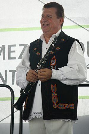 Tárogató - Dumitru Dobrican, a tárogató folk musician from Dăntăuşii din Groşi, Romania.