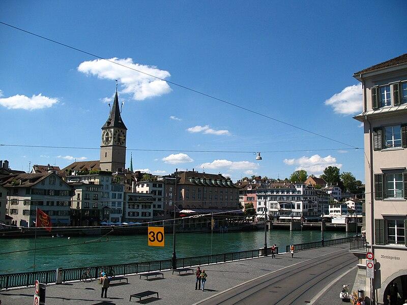 File:7356 - Zürich - Limmat.JPG