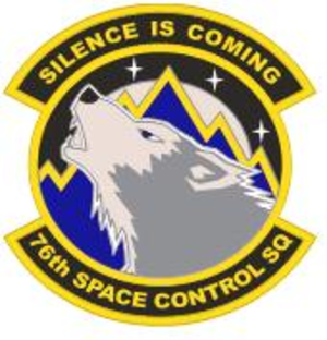 76th Space Control Squadron - Image: 76th Space Control Squadron new