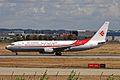 7T-VJO B737-8D6 Air Algerie TLS 08SEP10 (4980094632).jpg