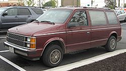 Plymouth Voyager (1984–1986)