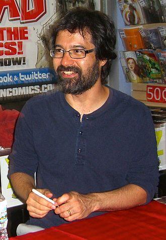 Greg Pak - Pak at an October 2012 signing for Doctor Strange: Season One at Midtown Comics in Manhattan.