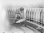 9.2 inch shells North Head 1944 AWM 063463
