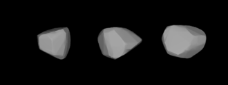 936 Kunigunde - A three-dimensional model of 936 Kunigunde based on its light curve