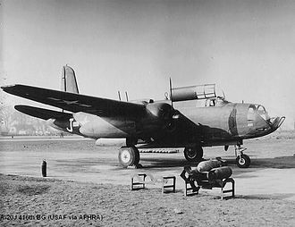 MDP Wethersfield - A-20J of the 416th Bomb Group – RAF Wethersfield, England, 1944