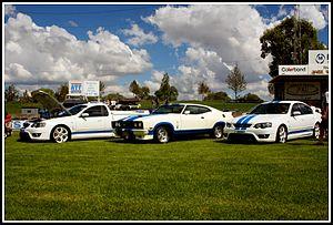 Ford Falcon Cobra - BF Falcon GT Cobra, XC Cobra Hardtop and BF Cobra ute.