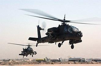 Pakistan–United States skirmishes - Image: AH 64 Apache (2233201139)