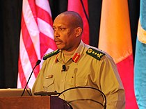 ALFS - Lt. Gen. Patrick Nyamvumba, force commander for the United Nations - African Union Mission in Darfur (UNAMID) - African Land Forces Summit.jpg