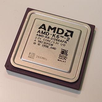 AMD K6-2 - AMD K6-2 266 MHz