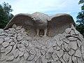 A Bakony madarai szobor, ragadozó, 2019 Ajka.jpg