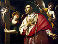 A Grammatica San Carlos Borromeo con dos ángeles Worcester Art Museum.jpg