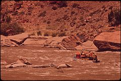 A River Trip Into Canyonlands National Park Conducted by Tag - Along - Tours of Moab, 05-1972 (3856290021).jpg