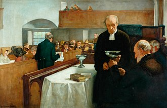 Sacrament - Henry John Dobson's A Scottish Sacrament