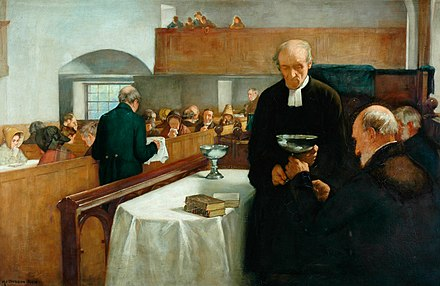Henry John Dobson's A Scottish Sacrament A Scottish Sacrament.jpg