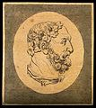 A bust of Hercules; profile. Drawing, c. 1792. Wellcome V0009200EL.jpg