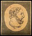 A bust of Hercules; profile. Drawing, c. 1792. Wellcome V0009200EL.jpg