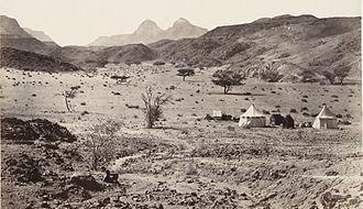 Sinai Peninsula - The wilderness of Sinai, 1862