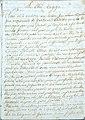 A chi legge tentativo grammatica ladina gardenese manoscritto Gherdëina.jpg
